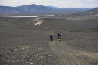 Iceland cycle touring Kjolur