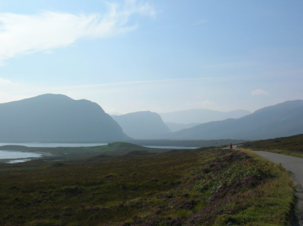 Cycle touring north Scotland
