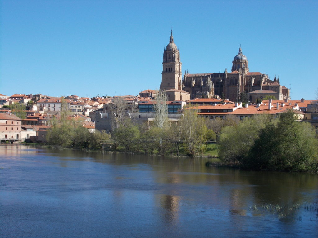 Salamanca. Cycling across Spain Via de la Plata and Camino de Santiago